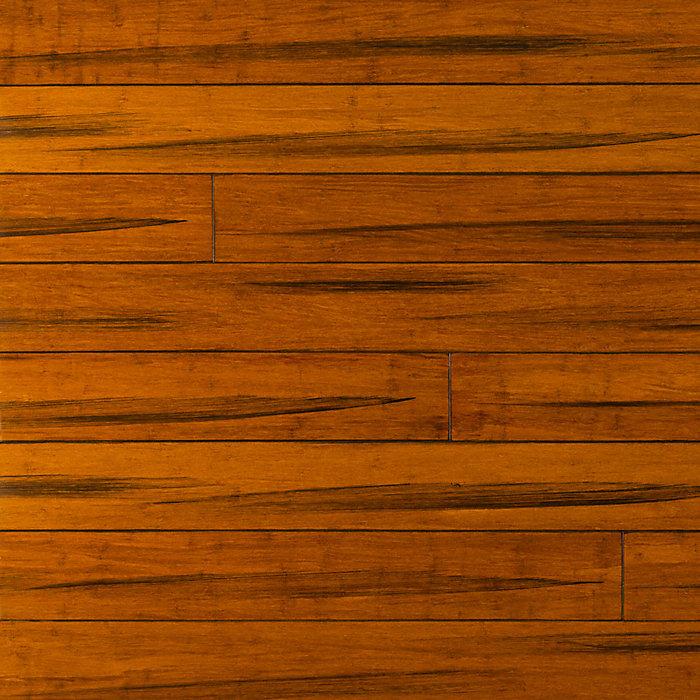 "3/8"" x 5-1/8"" Engineered Antique Strand Bamboo"