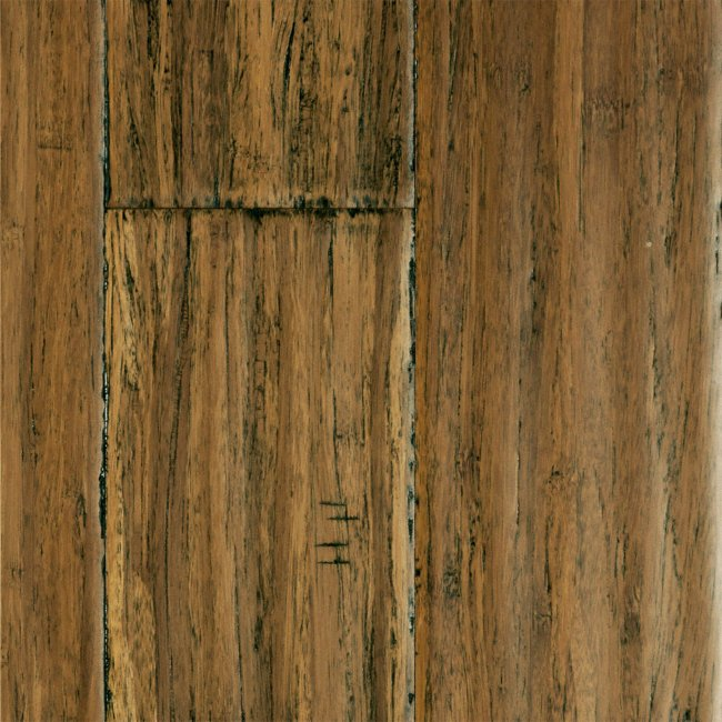 Bamboo Flooring Honey Strand Distressed