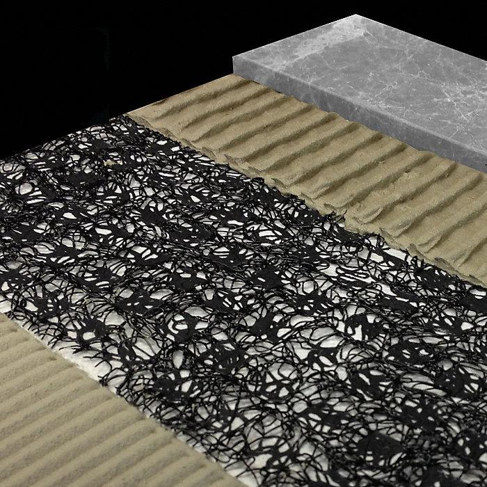 Anti Fracture Crack Isolation Membrane Fiber Fusion Lumber