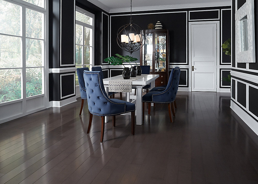 1 2 x 5 pewter maple builder 39 s pride engineered for Builders pride flooring installation