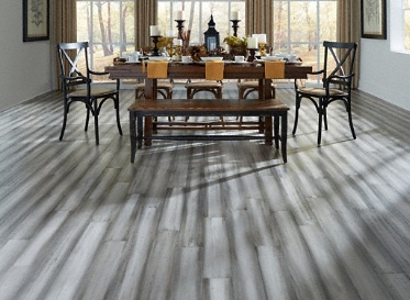 3 8 x 5 1 8 engineered distressed silver stone morning for Morning star xd bamboo flooring