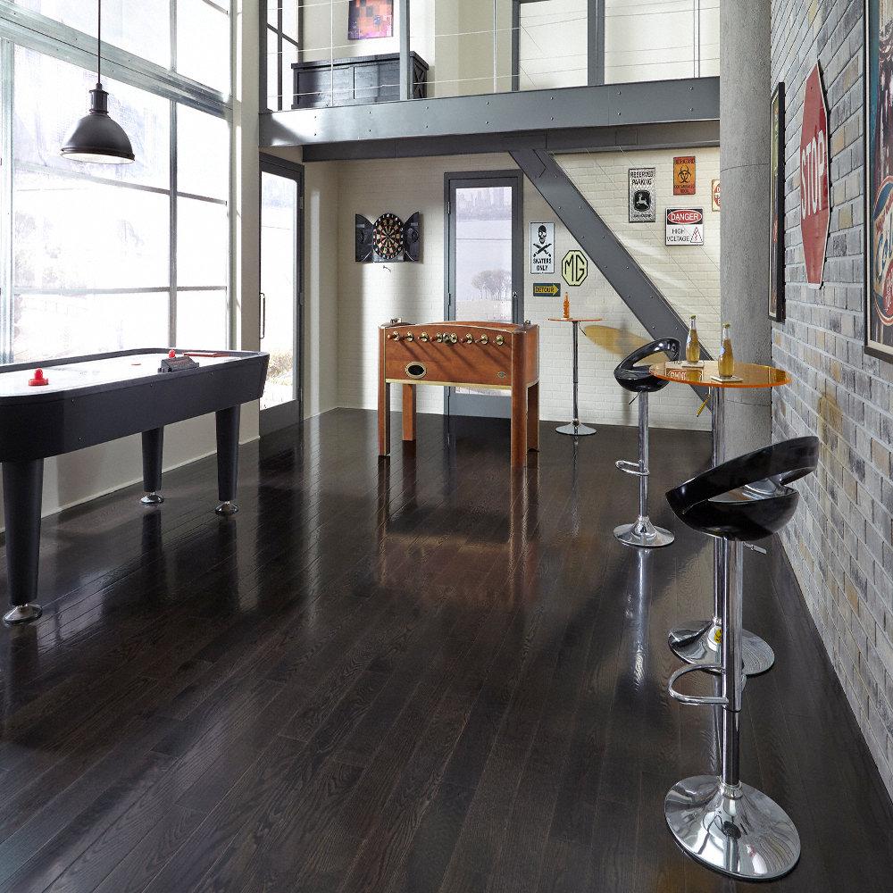 3 4 x 5 espresso oak builder 39 s pride lumber liquidators for Builders pride flooring installation