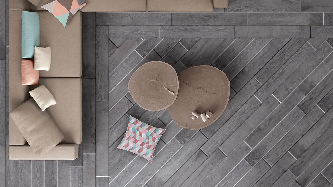 Avella Ultra 36 Quot X 6 Quot Pierside Gray Oak Porcelain Tile