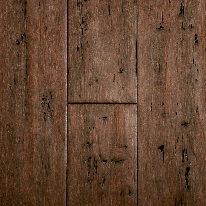 """9/16"""" x 5-1/8"""" Rustic Clove Bamboo"""