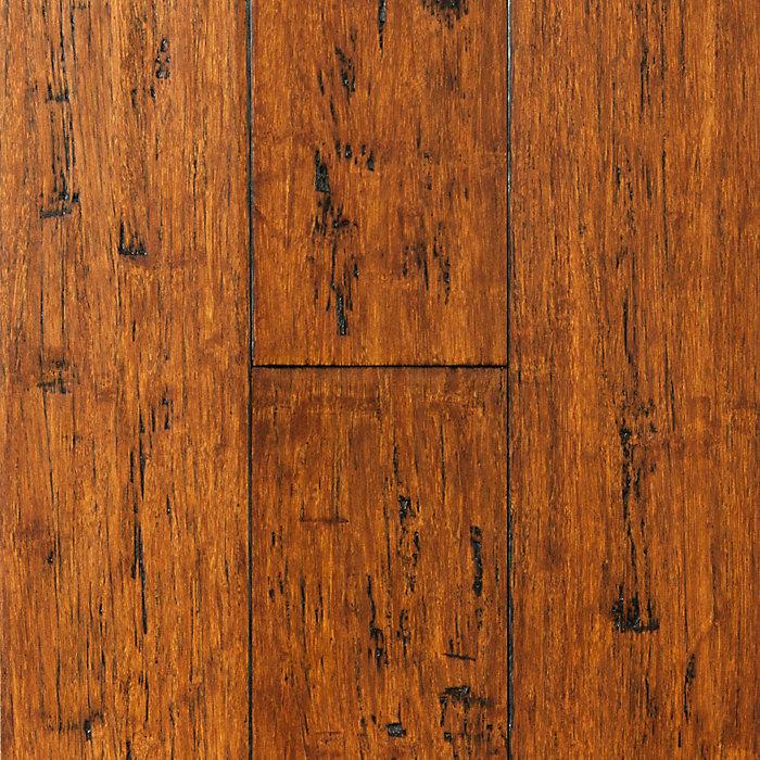 "Engineered Bamboo Wood Flooring: 3/8"" X 3-7/8"" Engineered Coppermine Bamboo"