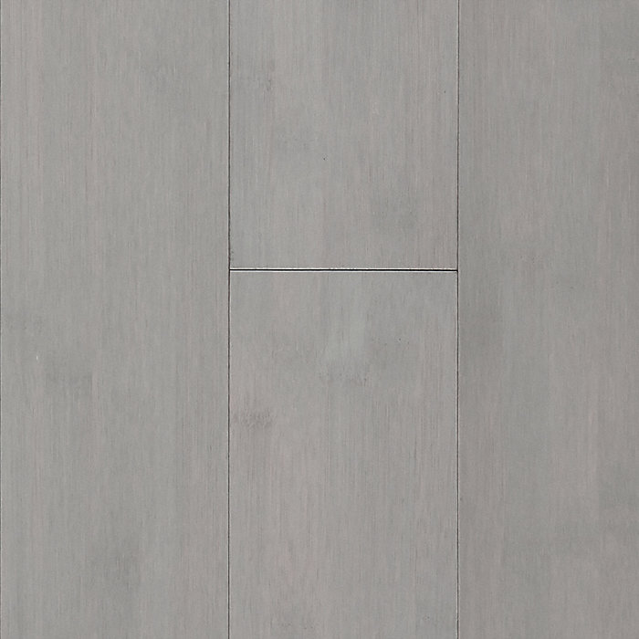 "3/8"" x 3-15/16"" Haze Gray Horizontal Bamboo"
