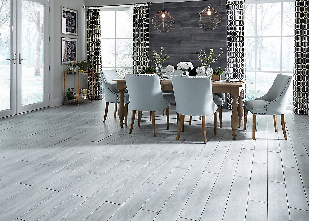 36 Quot X 6 Quot Morning Sky Oak Porcelain Tile Avella Ultra