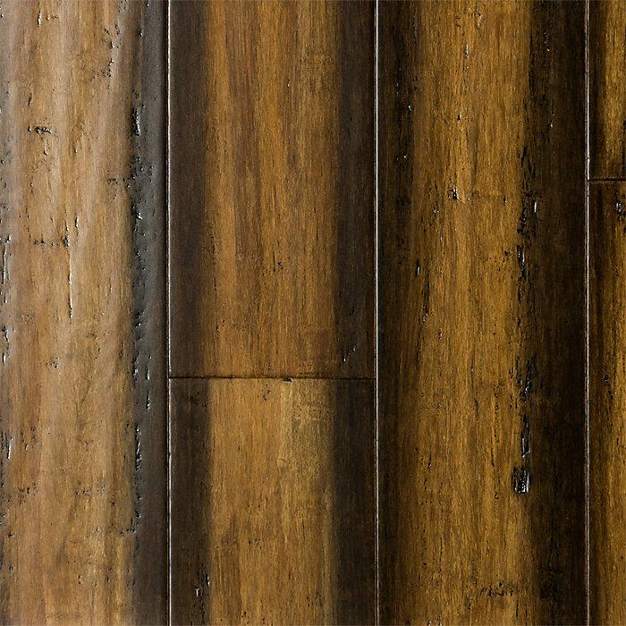 3/8 X 5 1/8 Engineered Cabana Gold Bamboo