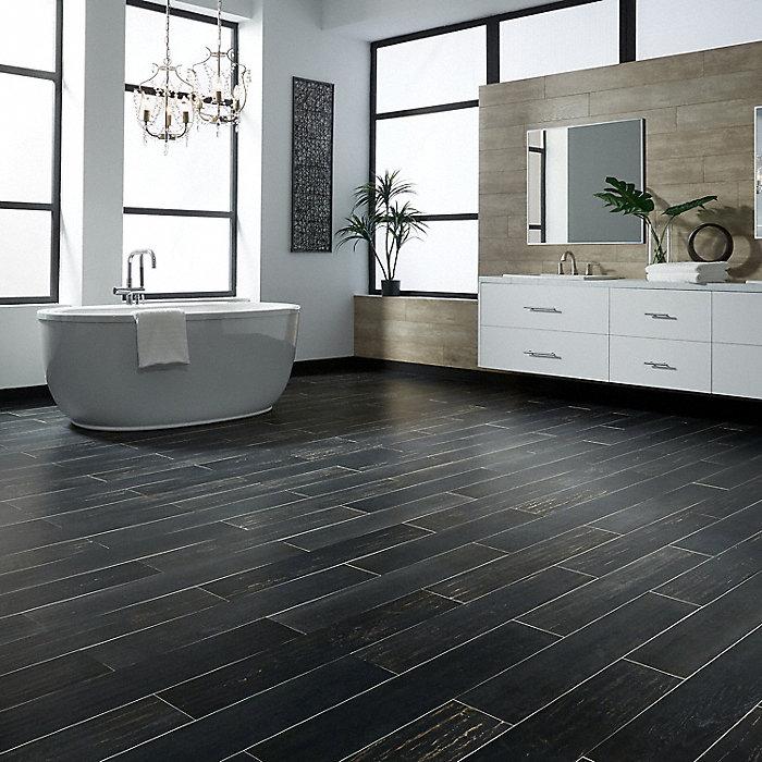 36  x 6  Iron Gate Oak Porcelain Tile   fullscreen. 36  x 6  Iron Gate Oak Porcelain Tile   Avella XD   Lumber Liquidators