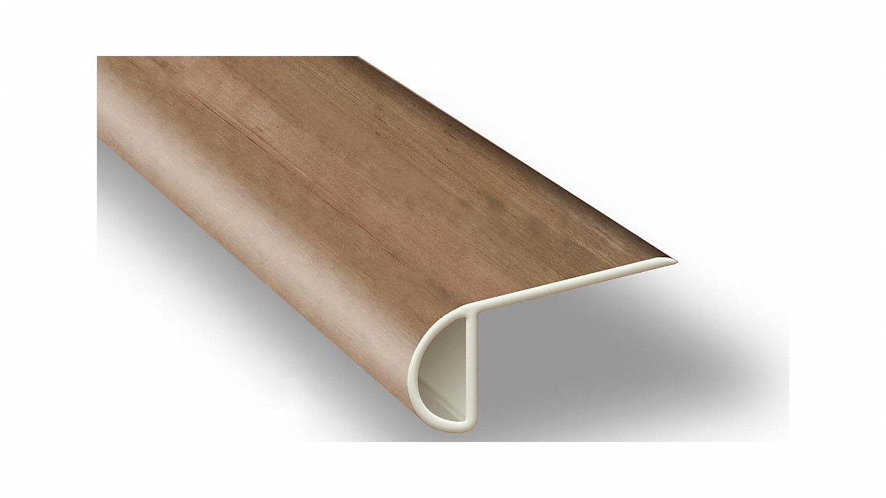 7 5 Rustic Reclaimed Oak Waterproof Stair Nose Lumber