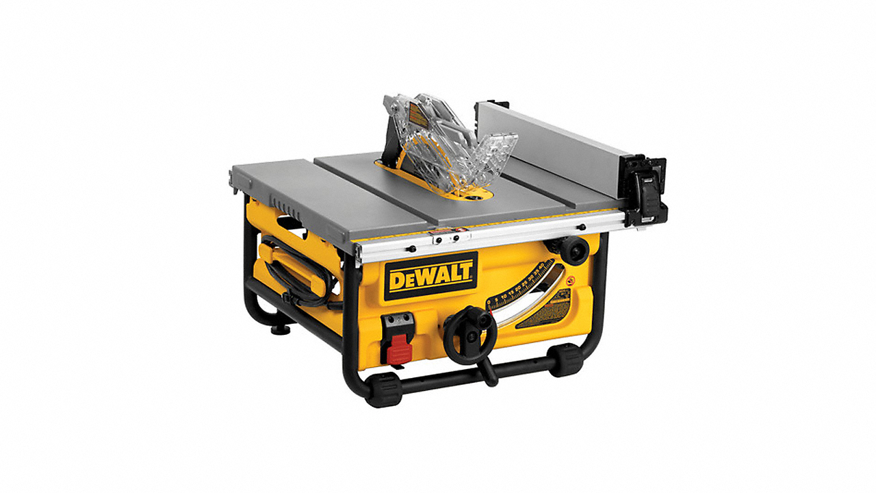 """10"""" Compact Table Saw with Site-Pro Modular Guarding System"""