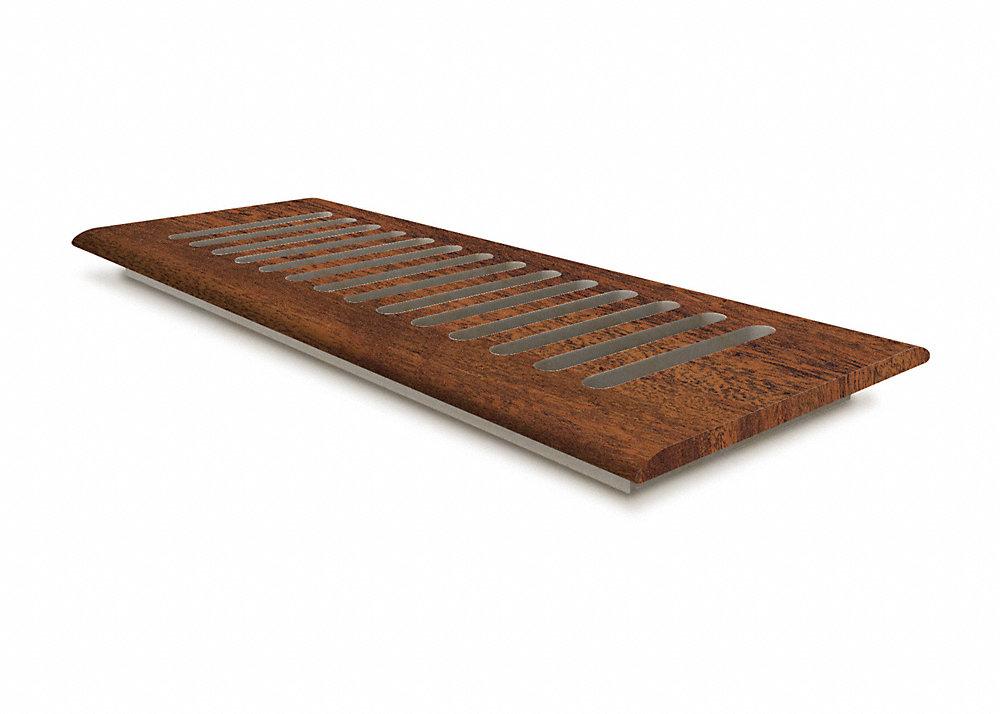 4 X 12 Bronzed Brazilian Acacia Drop In Grill Lumber