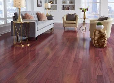 Purple Heart Solid Hardwood Flooring