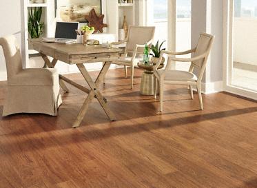 7mm pad brazilian cherry evp coreluxe ultra lumber for Coreluxe engineered vinyl plank reviews
