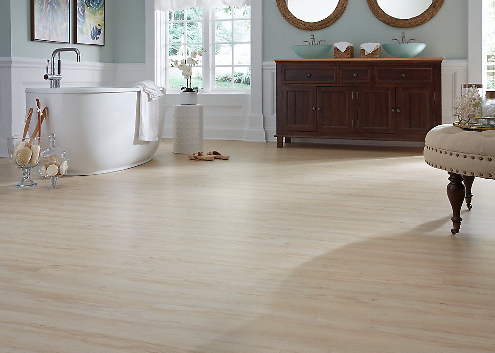 3mm Vanilla Bean Maple Luxury Vinyl Plank Flooring