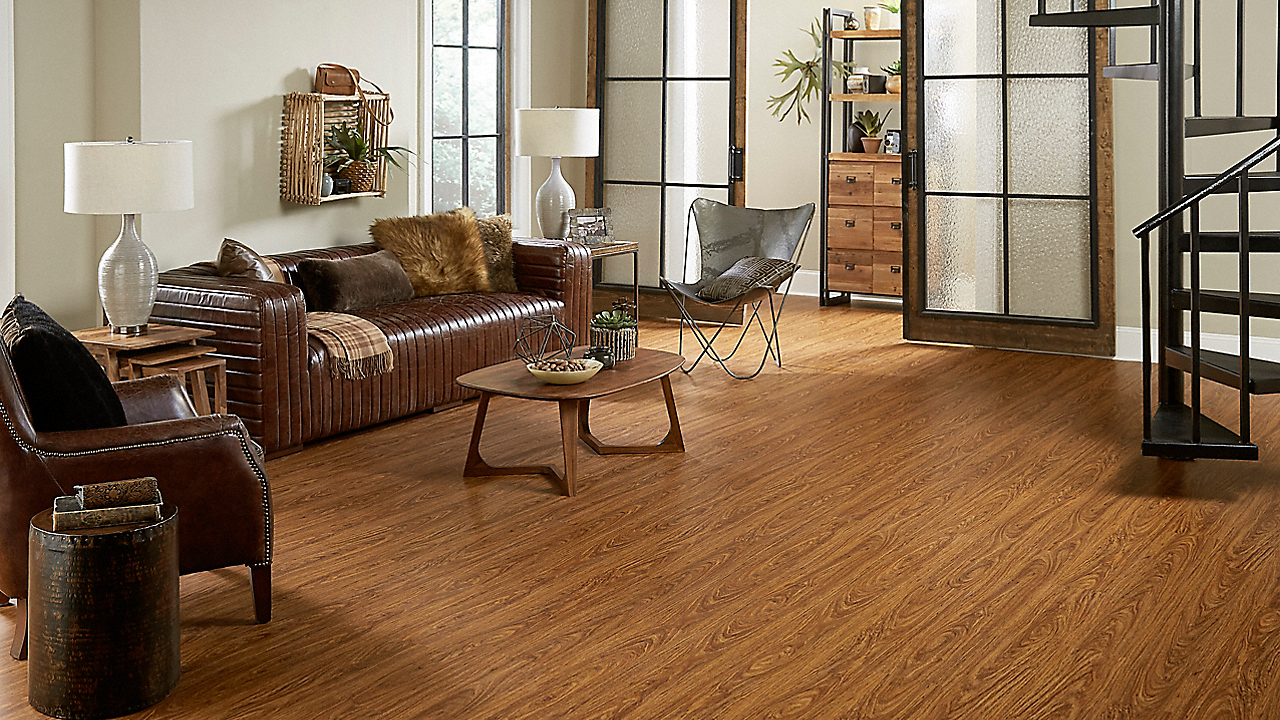 4mm Brazilian Cherry Luxury Vinyl Plank Flooring