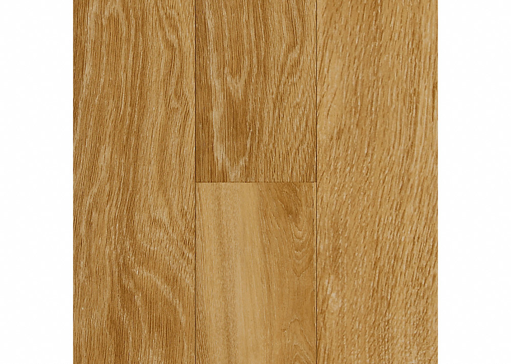 1.5mm Corn Silk Oak Luxury Vinyl Plank Flooring - Peel and Stick - 10 year warranty