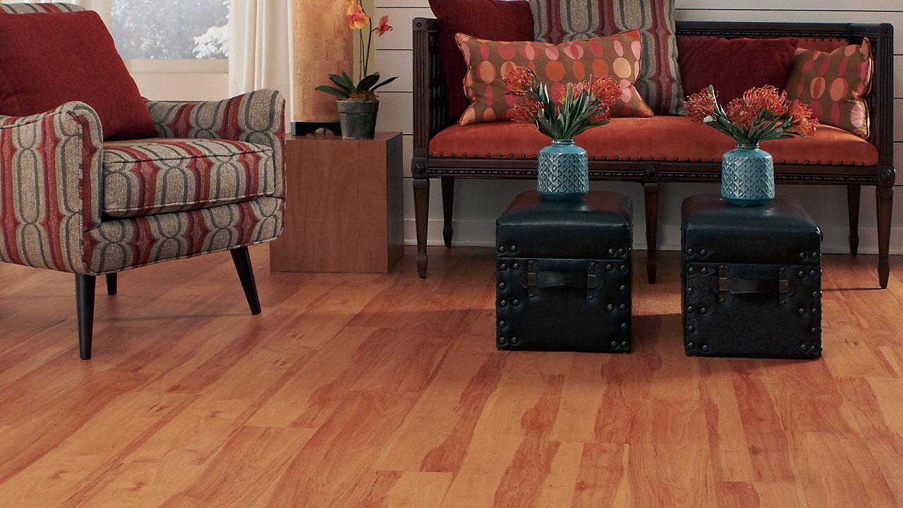 2mm Mount Craig Cherry Luxury Vinyl Plank Flooring - Peel and Stick