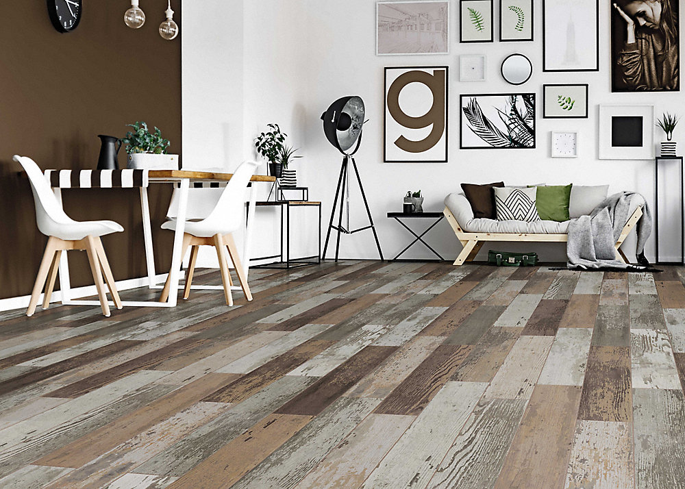 Lumber liquidators hardwood floors for less for Evp flooring installation