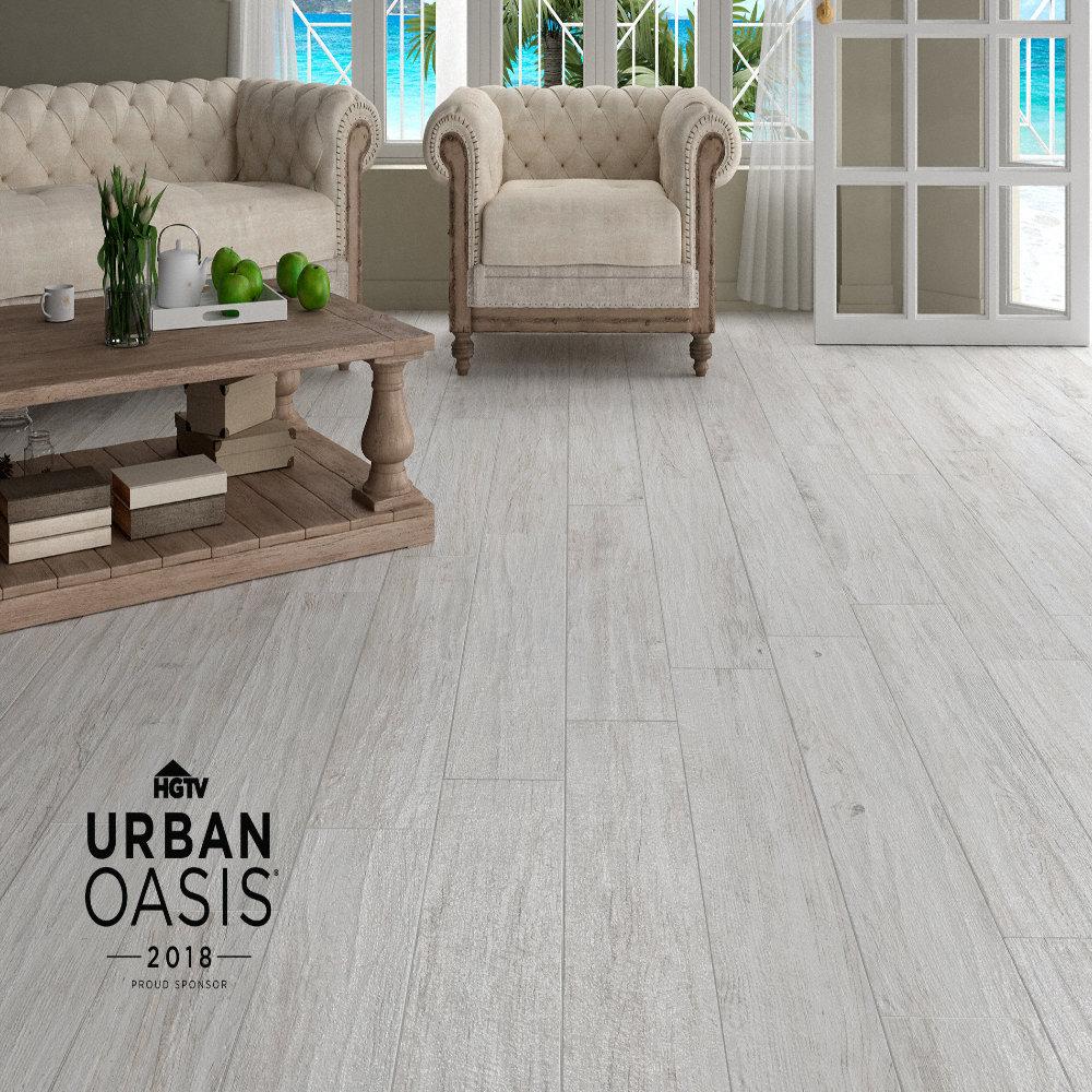 Avella Ultra 48 Quot X 8 Quot Montego Bay Oak Porcelain Tile