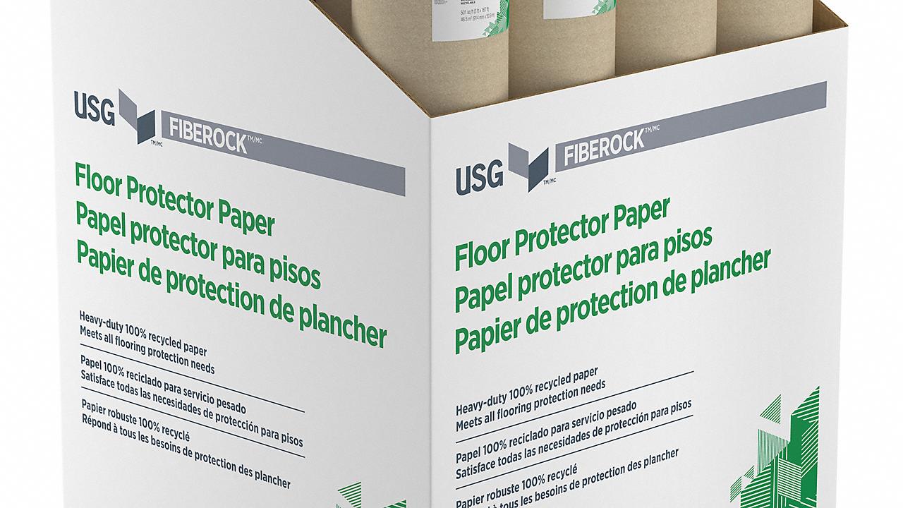 Fiberock Floor Protector 500 sq ft