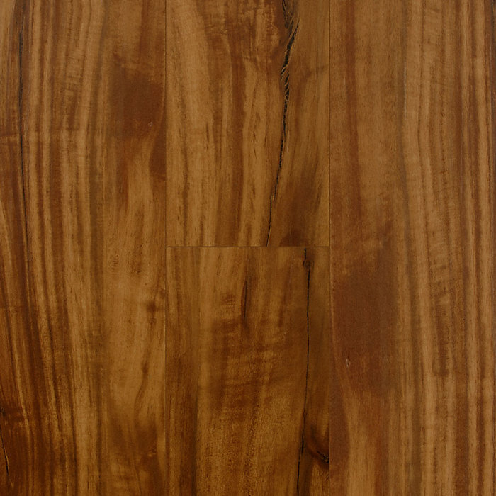 5mm Golden Teak Luxury Vinyl Plank Flooring - Lifetime Warranty