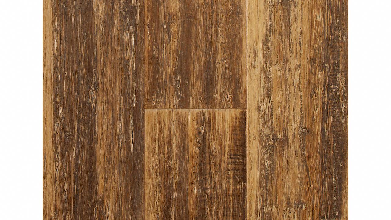 "9/16"" x 5-1/2"" Engineered Caramel Glaze Bamboo"