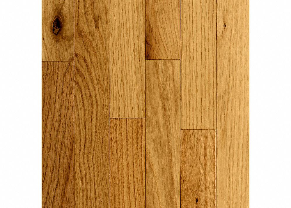 "3/4"" x 2-1/4"" Natural Red Oak"