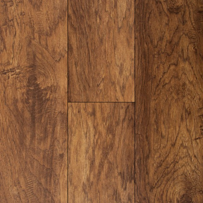 Major Brand 10mm Old Fashioned Hickory Laminate Flooring