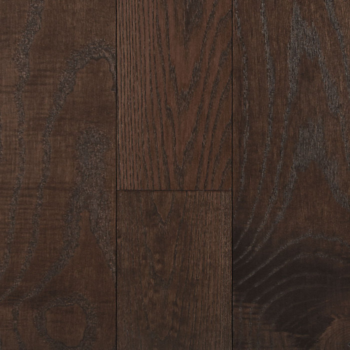 "3/8"" x 6-1/2"" Arabica Ash Distressed Engineered Flooring"