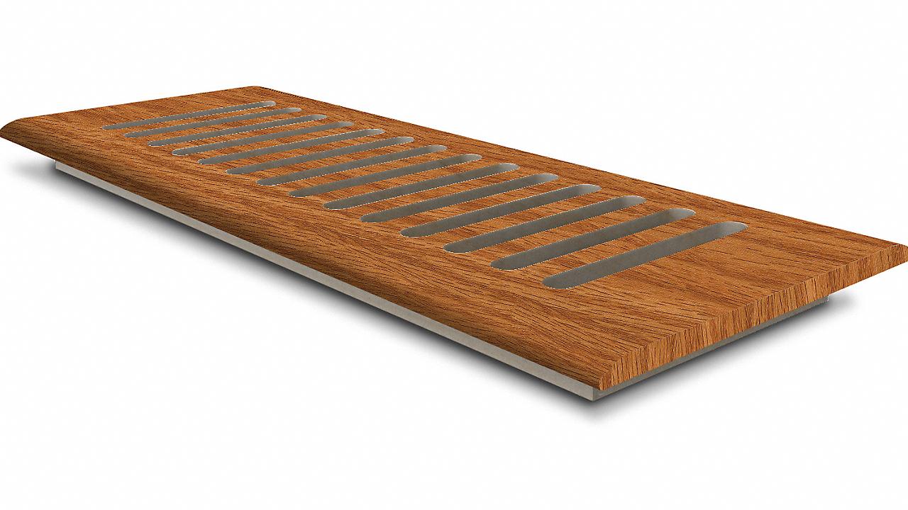 """TRQ Butterscotch Oak 4x10"""" DI Grill"""