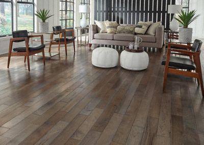 Bellawood Artisan Distressed 3 4 X 5 Haversham Hickory Solid Hardwood Flooring Lumber Liquidators Flooring Co