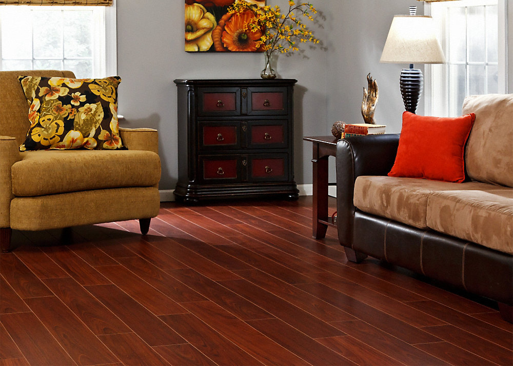 Dream Home 10mm Pad Boa Vista Brazilian Cherry Laminate