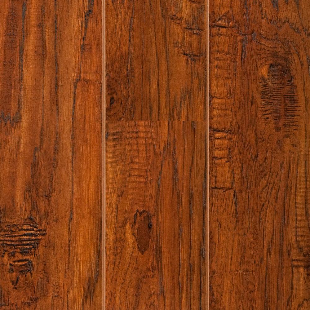 Prefinished Hardwood Flooring Gaps: 12mm Buffalo Gap Hickory Laminate