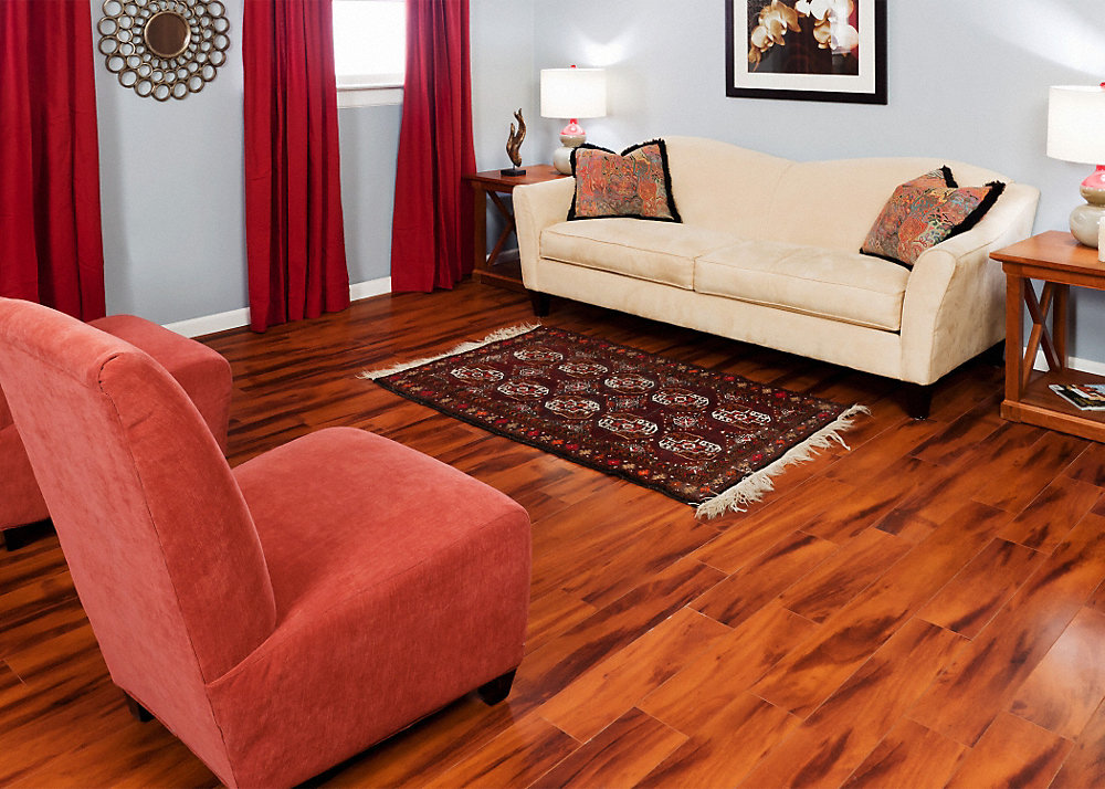 12mmpad Brazilian Koa Laminate Dream Home St James Lumber