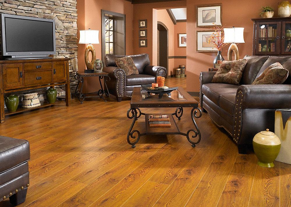 12mm heritage long length oak laminate flooring dream for Dream home flooring