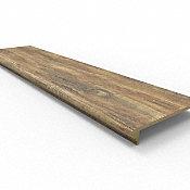 48 Rustic Reclaimed Oak Retro Fit Tread