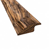 Prefinished Tobacco Road Acacia Hardwood 1/2 in thick x 2 in wide x 78 in Length Reducer