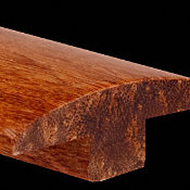 Prefinished Carbonized Strand Bamboo  0.625 in thick x 1.875 in wide x 6 ft Length T-Molding