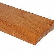Prefinished Colonial Red Oak Hardwood 1/2 in thick x 3.25 in wide x 8 ft Length Baseboard