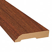 Boa Vista Brazilian Cherry Laminate 3.25 in wide x 7.5 ft Length Baseboard