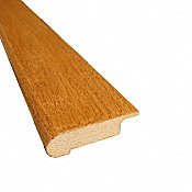 Prefinished Butterscotch Hardwood 1/2 in thick x 2.75 in wide x 78 in Length Quick Click Overlap Stair Nose