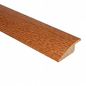 Prefinished Butterscotch Hardwood 1/2 in thick x 2 in wide x 78 in Length Quick Click Overlap Reducer