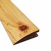 Prefinished Australian Cypress Hardwood 3/4 in thick x 2.25 in wide x 78 in Length Reducer