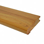 "3/4"" x 3-1/8"" x 78"" Australian Cypress Stair Nose"