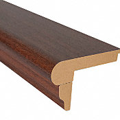 Boa Vista Brazilian Cherry Laminate 2.3 in wide x 7.5 ft Length Flush Stair Nose