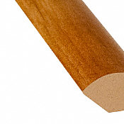 Heard County Hickory Laminate 1.075 in wide x 7.5 ft Length Quarter Round