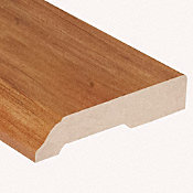 Heard County Hickory Laminate 3.25 in wide x 7.5 ft Length Baseboard