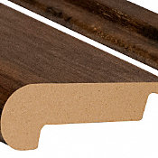 Riverside Hickory Laminate 2.3 in wide x 7.5 ft Length Stair Nose