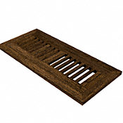 "4"" x 12"" Antique Hazel Flush Grill"